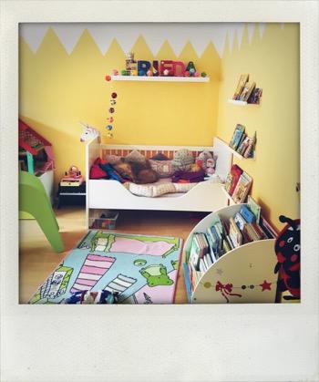 Wir renovieren Friedas Zimmer.
